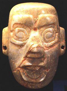 Olmec Jade Mask of Tlaloc