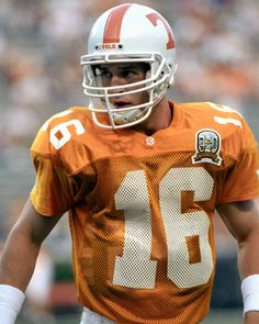 Peyton Manning  Picture at Tennessee Volunteer Photos