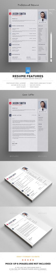 #Resume - Resumes Stationery Download here: https://graphicriver.net/item/resume/19394450?ref=alena994