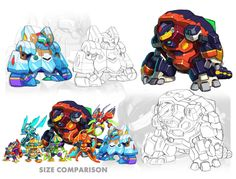 Mavericks III (Pseudoroid Version Concepts) by ultimatemaverickx on DeviantArt