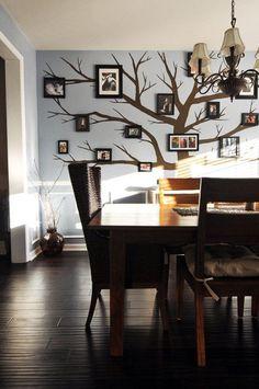 Árvore Genealógica Com Quadros Decoração