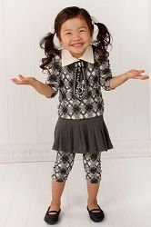 Little Mass Gossip Girl Charcoal Pleated Skirt  Your Price: $42.00  On sale: $9.99