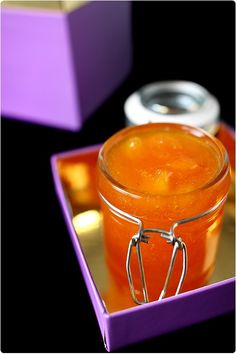 confiture-abricot-peche2 Glace Fruit, Brunch, Homemade, Canning, Vegetables, Desserts, Chutneys, Live, Tailgate Desserts