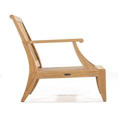 Laguna Teak Deep Seating Outdoor Lounge Chair - Westminster Teak Outdoor Furniture