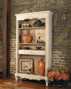 Country chic decor country chic home decor cheap shabby chic bedroom Shabby Chic Bookcase, Shabby Chic Furniture, Furniture Decor, Painted Furniture, Accent Furniture, Kitchen Furniture, Garden Furniture, Unfinished Furniture, White Furniture