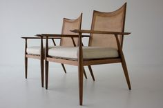 Paul McCobb Lounge Chairs for Winchendon, Planner Group Series   From a unique collection of antique and modern lounge chairs at https://www.1stdibs.com/furniture/seating/lounge-chairs/