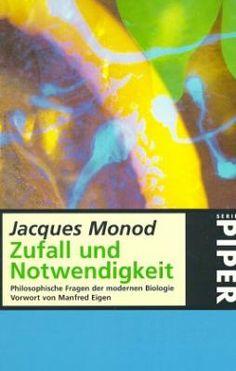 Jacques Monod legt anhand zentraler Erkenntnisse der modernen Biologie eine Angst frei, die uns alle, bewusst oder unbewusst, zeichnet. Sie entspringt dem Versagen unserer subjektiven Deutung der Welt, das wir auch als das Unbehagen an der Moderne kennen — und der Ursprung dieser Angst liegt, was überraschen mag, in der Evolution des Menschen begründet.