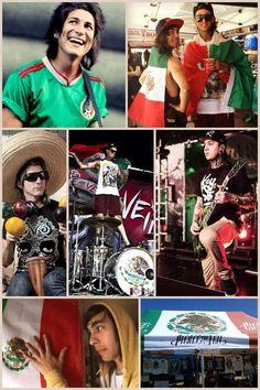 Pierce the Veil  Mexican Pride.