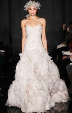 2012 wedding dresses beaded bridal gowns reem acra