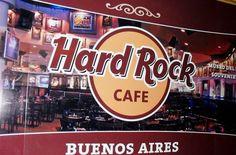 Dicas de lugares para visitar em Buenos Aires: Hard Rock Café Recoleta - Buenos Aires