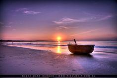 mui ne beach, vietnam HDR (sunrise) by pixelwhip, via Flickr