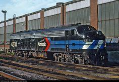 RailPictures.Net Photo: AMTK 4316 Amtrak EMD E8(A) at Harrisburg, Pennsylvania by Marty Bernard