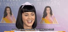 """Of course, it's great that she embraces the """"feminist"""" label - even if she is a little unsure. 