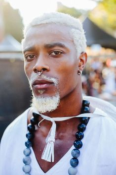 Afropunk: Festival Style Has Never Looked So Good - Man Repeller Festival Style, Festival Fashion, Afro Punk Fashion, Mens Fashion, Gypsy Fashion, Fashion Music, Natural Hair Styles, Short Hair Styles, Men Hair Color