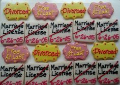 Divorce Cookies