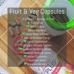 Buy Juice Plus+ Fruit, Vegetable & Berry Blend capsules to add nutrition from 30 fruits, vegetables and berries. Fruit And Veg, Fruits And Veggies, Vegetables, Juice Plus Company, Juice Plus Capsules, Juice Plus+, Fruit Juice, Benefits Of Berries, Spinach Nutrition Facts