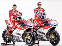 Ducati+apresenta+novas+cores+das+Desmosedici+GP+de+Jorge+Lorenzo+e+Andrea+Dovizioso