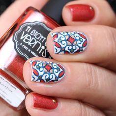 polish stamp nail - Buscar con Google