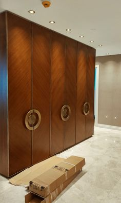 Though you may not believe of your storage room closet door typically, it's a great chance to consist of a distinct want to your room. Typically, these places go extra as merely doors however are norm Wardrobe Interior Design, Wardrobe Door Designs, Wardrobe Design Bedroom, Bedroom Bed Design, Bedroom Furniture Design, Wardrobe Doors, Home Room Design, Closet Designs, Closet Bedroom