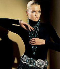 Ralph Lauren & turquoise.