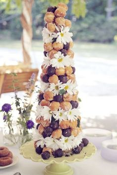 Gateau mariage palmier