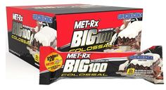 MET-Rx - Big 100 Colossal Meal Replacement Bar Super Cookie Crunch - 3.52 oz. * Hurry! Check out this great product : Bars Snacks Weight loss dietry