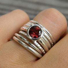 I love this woman's pieces...so very cool (and she made my engagement and wedding ring set)