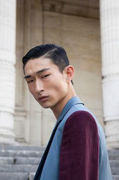 """Future Faces by Models.com """" Sang Woo Kim, 20, London Even after dabbling in the fashion world with an internship at Prada in Korea and modeling stints for his classmates during his time in a..."""