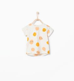 Faces print t-shirt-T-shirts-Baby girl (3 months - 3 years)-KIDS | ZARA United States