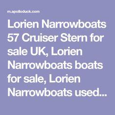 Lorien Narrowboats 57 Cruiser Stern for sale UK, Lorien Narrowboats boats for sale, Lorien Narrowboats used boat sales, Lorien Narrowboats Narrow Boats For Sale Beautiful 57 ft Narrowboat 'Lorien' in central London - Apollo Duck