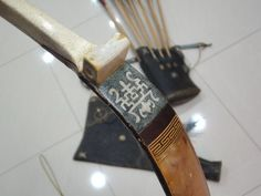 Making of a mosaic patterned Manchu bow Archery Thumb Ring, Traditional Archery, Thumb Rings, Mosaic Patterns, Bows, How To Make, Faith, Arches, Bowties