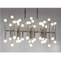 Ceiling Lamps - Meurice Rectangle Chandelier