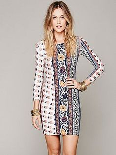 Free People Hyperion Bodycon Dress