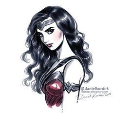 Mujer Maravilla por daekazu