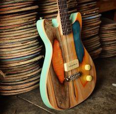 Guitarra artesana