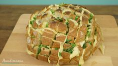 How to Make Pull Apart Bread --(video demo from YouTube)