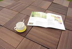 WPC DIY Decking product can be manufactured according to customer's requirements and drawing Wood Plastic, Plastic Decking, Terrace Design, Deck Design, Aquaguard Flooring, Outdoor Deck Decorating, Laying Decking, Outdoor Decking, Transition Flooring