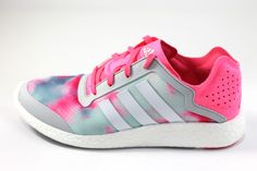 1774637126df Adidas Women s Pure-Boost Reveal White Pink Gray Running Shoes B26503   walklikeus