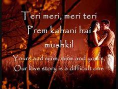 Teri Meri Lyrics & English Translation