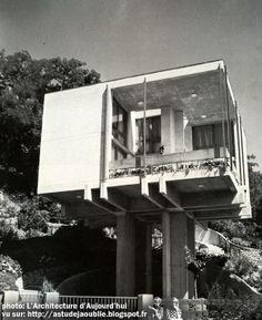 As-tu déjà oublié ? 50s,60s,70s Architecture: private house