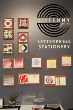 Sixpenny Press National Stationery Show 2012