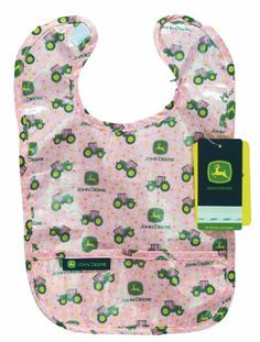 Look at this Pink Coated Baby Bib by John Deere John Deere Baby, Couture, Baby Accessories, Baby Bibs, Baby Fever, Future Baby, Cute Kids, New Baby Products, Girl Outfits