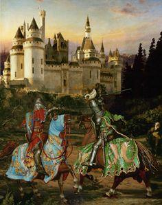 King Arthur and Sir Lancelot