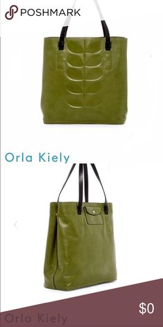 aebf205ef325 ISO Orla Kiely Willow Embossed Olive Bag ISO - Looking to purchase the Orla  Kiely Willow
