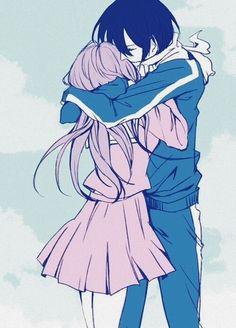 Noragami - Yato x Hiyori Yato X Hiyori, Yatogami Noragami, Anime Noragami, Anime Manga, Anime Art, Anime Music, Manga Girl, Anime Girls, Me Me Me Anime