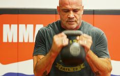 Bas Rutten's full-body workout is not for wimps