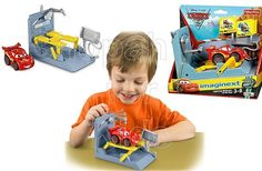Fisher- Price Imaginext   Disney Pixar Cars - McQueen and Pit Stop - To order:  http://www.shopaholic.com.ph/toys.html#!/Fisher-Price-Disney-Pixar-Cars-McQueen-and-Pit-Stop/p/29106202/category=6708182