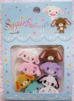 Sugarbunnies erasers // gomas borrar conejos