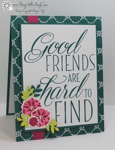Stampin' Up! Lovely Friends Sneak Peek – Stamp With Amy K