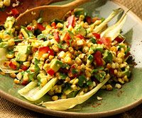 great use of leftover grilled corn